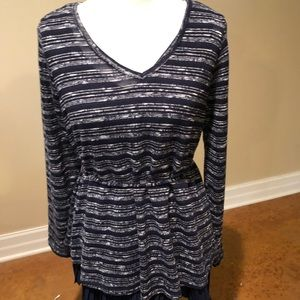Motherhood maternity navy blue sweater top XL